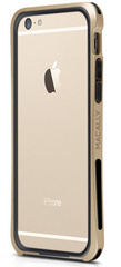 Macally Flexible Protective framecase for iPhone 6/6s - Champagne