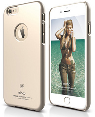S6 Slim Fit Case - Champagne Gold