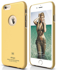 Elago S6 Slim Fit Case for iPhone 6/6s - Creamy Yellow