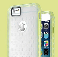 Makeit Hybrid Protective Bumper - Clear / Yellow