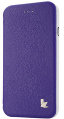 Leatherette Standing Case - Purple
