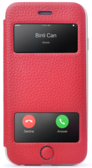Binli Noble Window for iPhone 6/6s - Red