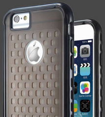 Makeit Hybrid Protective Bumper - Clear / Black