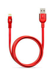 PeAk Flat Lightning Cable 120cm - Red