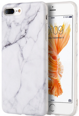 Sdesign Marble Case for iPhone 7/8 Plus - White