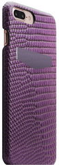 SLG D3 Italian Lizard Leather Back Case for iPhone 8 Plus / 7 Plus - Purple