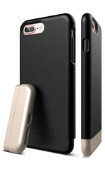 Elago S7+ Glide for iPhone 7 Plus - Black / Champagne Gold