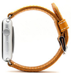 D6 Italian Leather Strap - Tan