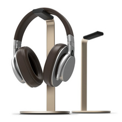 H stand for headphones - Champagne Gold