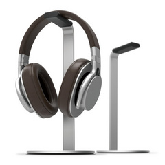H stand for headphones - Silver