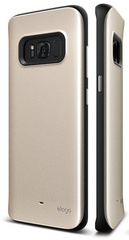 Hybrid Grip Case for Galaxy S8 - Maple Gold