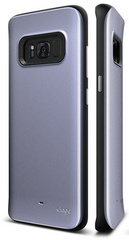 Hybrid Grip Case for Galaxy S8 - Orchid Gray