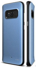Hybrid Grip Case for Galaxy S8 - Coral Blue
