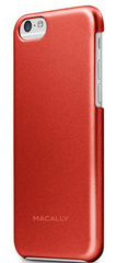 Macally Protective snap-on case for iPhone 6/6s - Red