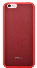 Jelly Leather Case - Red
