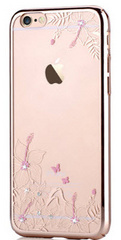 Crystal Engaging Case - Champagne Gold