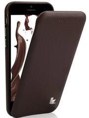 Leather Flip Case - Brown