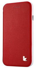 Leatherette Standing Case - Red