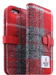 D5 Harris Tweed Edition Case - Gray/Red  (iPhone 6/6s)