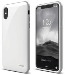 Elago Cushion for iPhone Xs - White