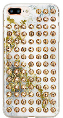BMT Extravaganza Alabaster/Gold Brilliance case for iPhone 7/8 Plus