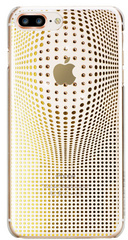 BMT Warp Deluxe case for iPhone 8 Plus - Gold/Crystals