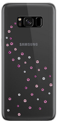 BMT Milky Way Rose Sparkles case for Samsung Galaxy S8 Plus