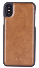 Devia Magic 2 in 1 Case for iPhone Xs - Brown