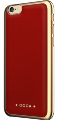 Occa Absolute Leather case for iphone 6/6S - Red