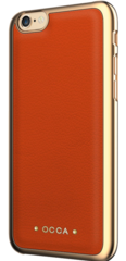 Occa Absolute Leather case for iphone 6/6S - Orange