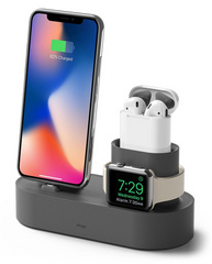 Trio Charging Stand - Dark Gray