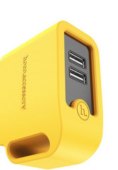 Hoco Smart Rapid Wall Charger - Yellow