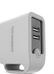 Hoco Smart Rapid Wall Charger - Grey