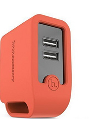 Hoco Smart Rapid Wall Charger - Orange Red