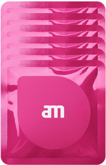 AM Wipes (6 packs of 3) - Anti bacterial wet screen cleaning tissues - Pink