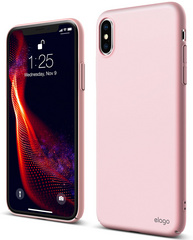 Elago Slim Fit Case for iPhone Xs - Lovely Pink