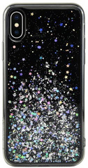SwitchEasy Starfield case for iPhone Xs - Solid Black