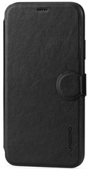 Meleovo Classic Flip Case for iPhone Xs - Black