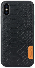 Meleovo Pattern Pyton Case for iPhone X/Xs- Black