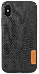 Meleovo Pattern Snaky Case for iPhone X/Xs- Black