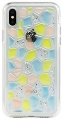 Switcheasy Flash Case for iPhone X/Xs - Yellow Cobblestone
