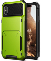 Verus Damda Folder Series case for iPhone X/Xs - Lime Green