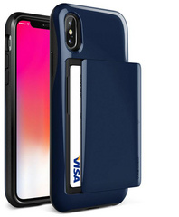 Verus Damda Glide Series case for iPhone X/Xs - Blue