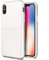 Verus High Pro Shield Series case for iPhone X/Xs - White Silver