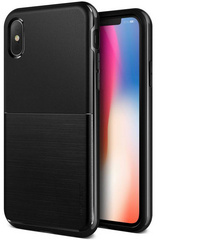 Verus High Pro Shield Series case for iPhone X/Xs - Metallic Black