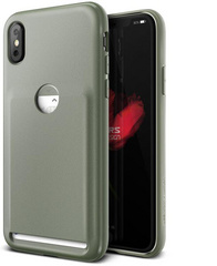 Verus Damda Fit Series case for iPhone X/Xs - Olive Green