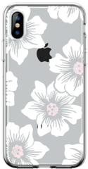 Comma Flower Series Case for iPhone X - Transparent