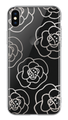 Devia Camellia Case for iPhone X - Silver