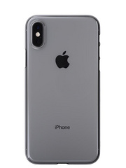 Power Support Air Jacket for iPhone Xs - Clear Black