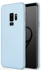 Sdesign Silicone case for Samsung Galaxy S9 - Sky Blue